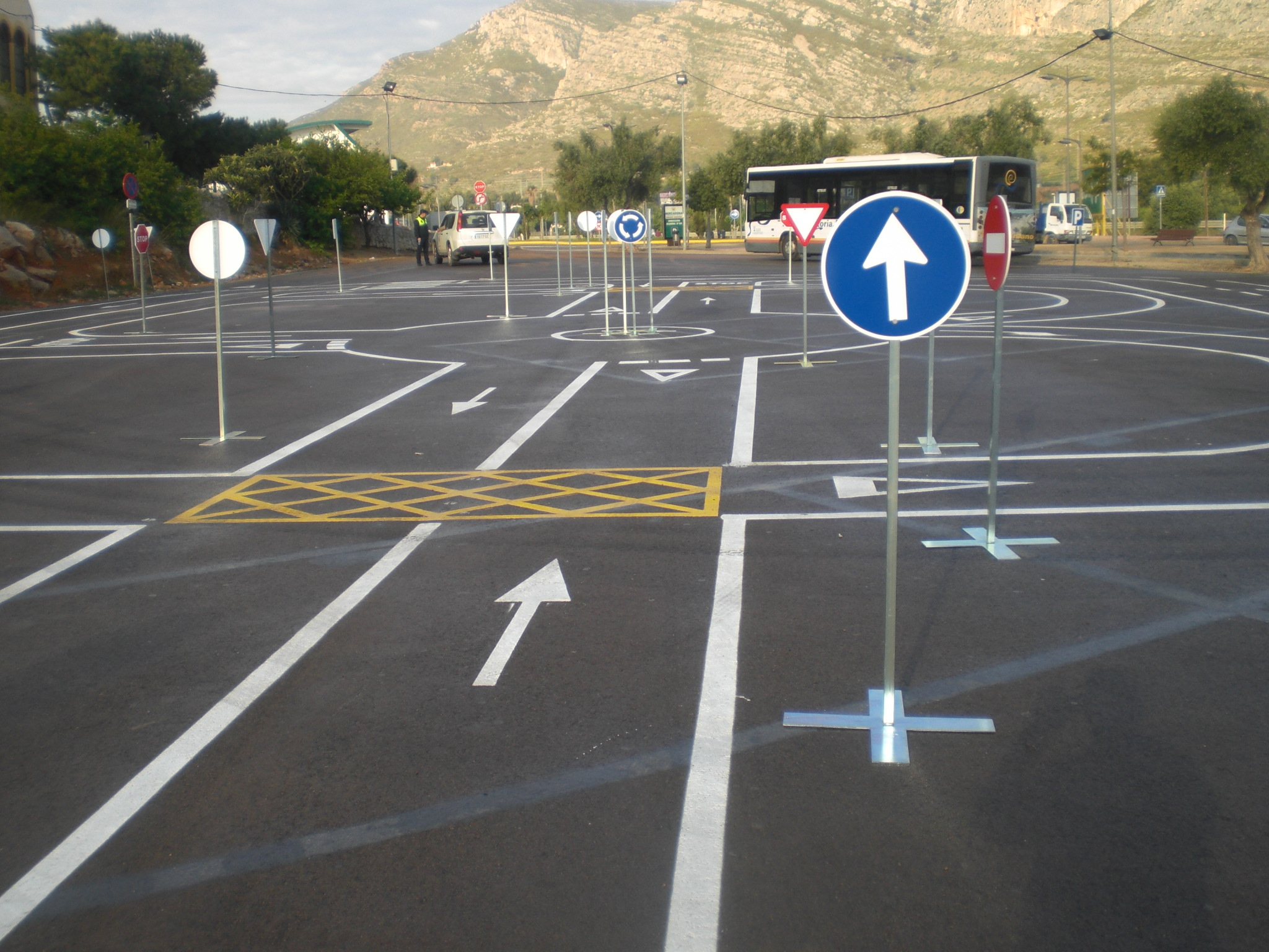 Circuito Vial : Seofer archive parque infantil de tráfico en oropesa