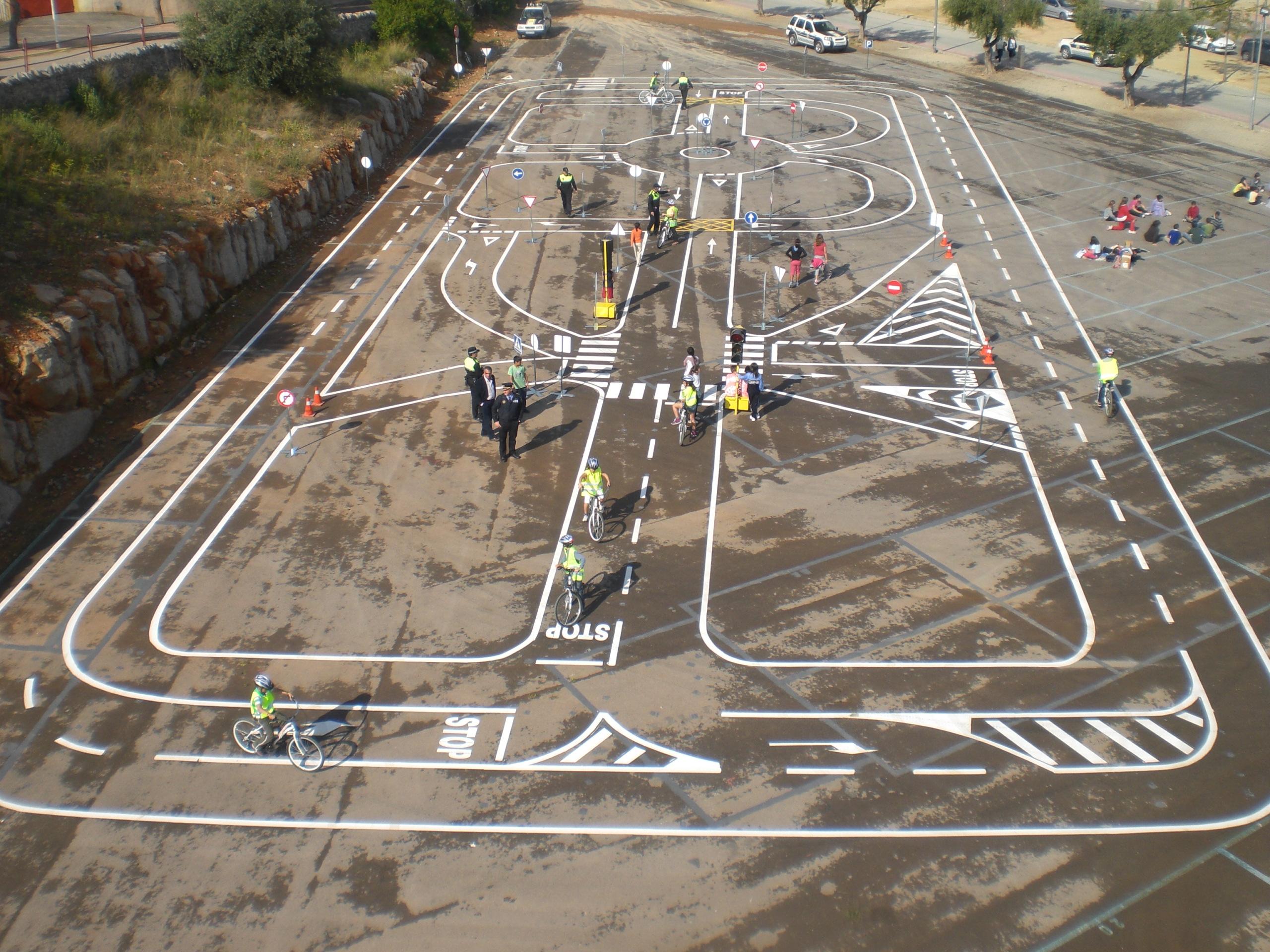 Circuito Vial : Circuito vial infantil educación